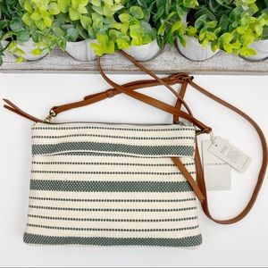 Lucky Brand NWT Woven Dori Crossbody Bag